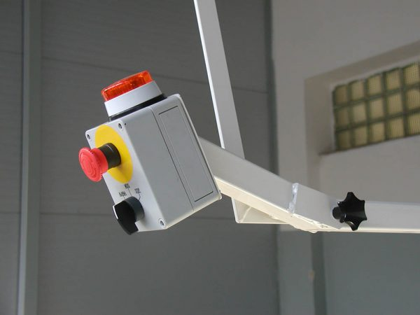 central stop tlačítko